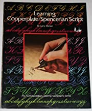 learning copperplate script
