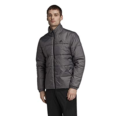 adidas Outdoor 3-Stripes Insulated Jacket (Grey Five) Men