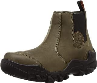 Woodland Men's Ogb 2976118_Olive Green_9 Leather Boots-9 UK (43 EU) (10 US) 2976118OLIVE