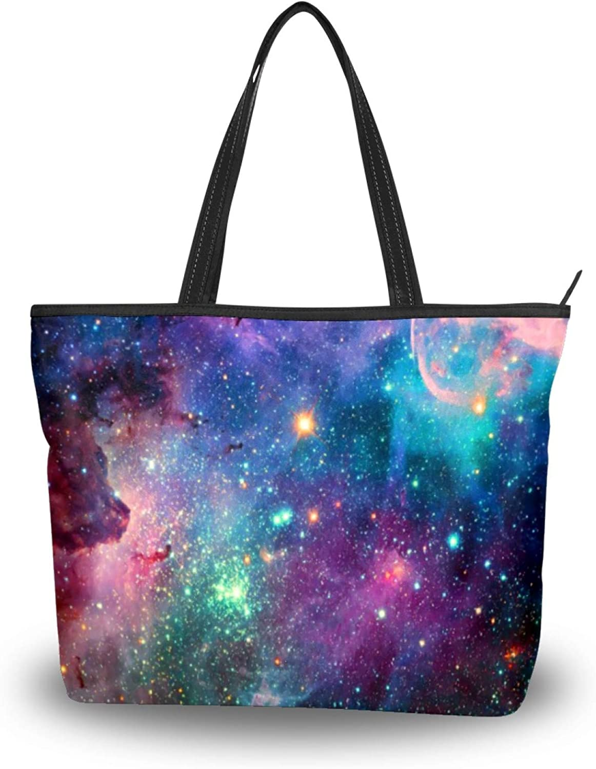 50 New color Cent Original Starry Sky Bag Tote Polyester shipfree Lightweight Wome