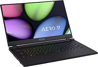 GIGABYTE AERO 17 ノートパソコン・All Intel Inside/Microsoft Azure AI/ 17.3インチ/Samsungメモリ採用/ Intel 760P SSD (4K   RTX 2070   i7-108...