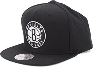 Mitchell & Ness Men's Brooklyn Nets Solid Snapback Cap