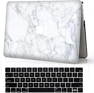 Mod/èle: A1989, A1706, A1708 Feuilles de palmiers tropicaux 06 caoutchouc souple Coque Nouveau MacBook Pro 13 pouces 2018 /& 2017 /& 2016 avec // sans Touch Bar//ID L2W Coque dure de protection