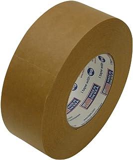 "Intertape 530/BRN260 530 Utility-Grade Flat Back Packaging Tape: 2"" x 60 yd, Brown"