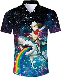 Best cat button up shirt mens Reviews