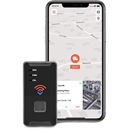 Spytec GPS GL300 GPS Tracker for Vehicles, Car, Truck, RV, Equipment, Mini Tracking Device for Kids, Seniors, Free Smartphone App, Real-Time Tracking,