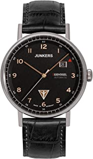 JUNKERS 荣克士 德国品牌 冰岛F13系列 机械男士手表 6754-5