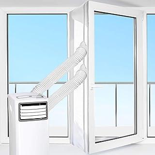 comprar comparacion HOOMEE 560cm Cubierta Aislante de Tela para Ventanas para Aparatos De Aire Acondicionado Portátiles y Secadoras. Fácil Ins...
