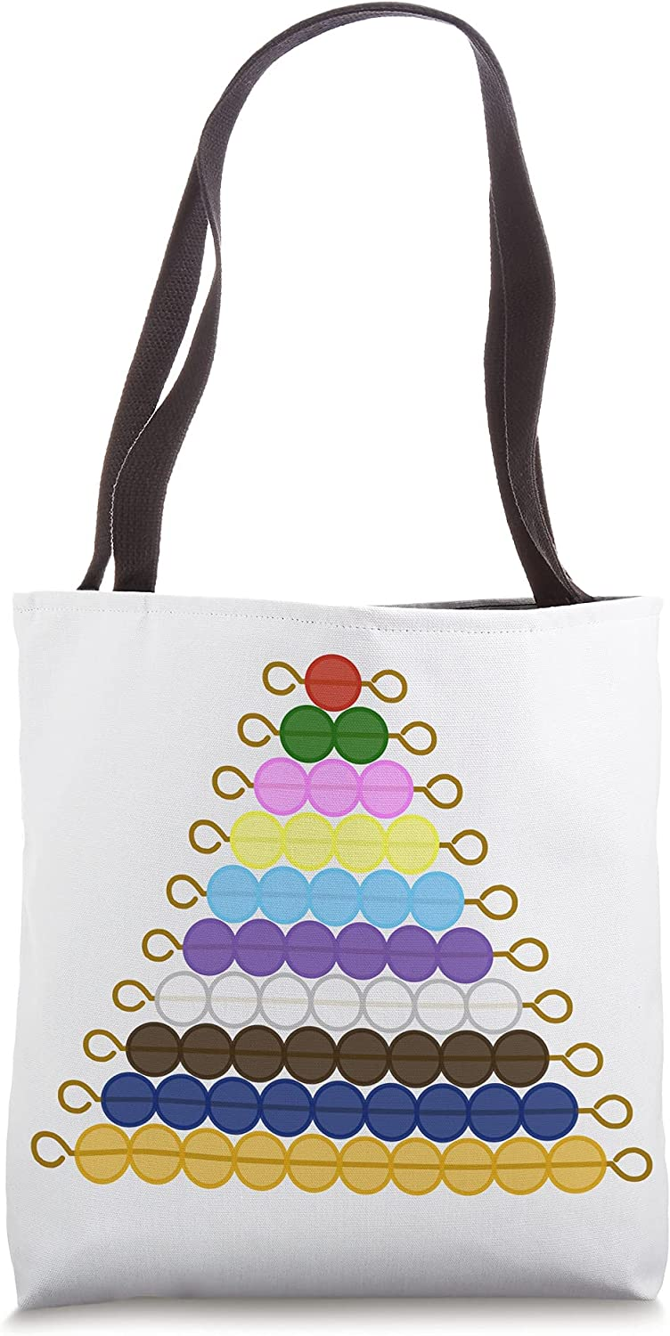 Montessori Short Bead Sales of SALE items from new Max 61% OFF works Tote Bag Stair