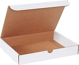 """BOX USA BM1292 12 1/8""""L x 9 1/4""""W x 2""""H, White (Pack of 50)"""
