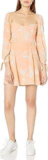 ASTR the label Women`s Long Sleeve Windsor Mini Dress
