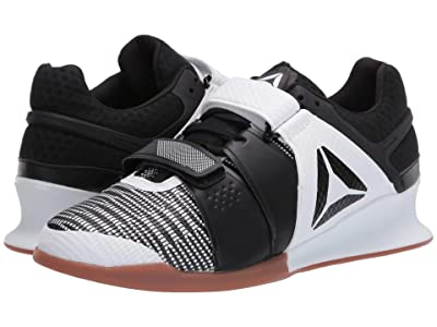 Reebok Legacy Lifter (White/Black/Reebok Rubber Gum) Women