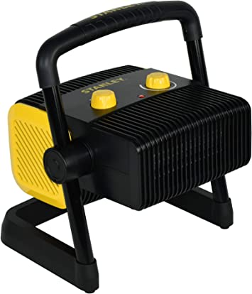STANLEY ST-300A-120 Electric Heater, Black, Yellow: image