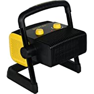 STANLEY ST-300A-120 Heavy-Duty Electric Heater Black, Yellow