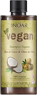 Shampoo Vegan com Óleo de Coco e Oliva 500 ml, Inoar