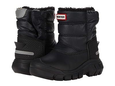 Hunter Kids Original Snow Boots (Toddler/Little Kid) (Black) Kid