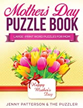 Mother's Day Puzzle Book: Large-Print Word Puzzles for Mom