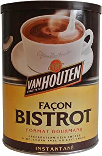 Van Houten Gourmet Cocoa Powder Bistrot decorative tin 15oz (425g)