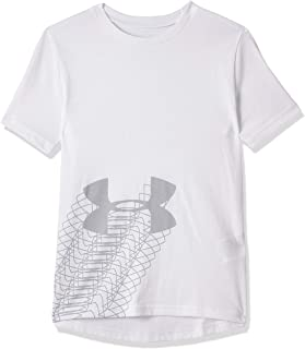 Under Armour Boys Linear Logo Short Sleeve T-Shirt