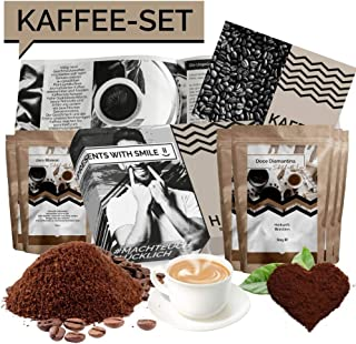 Coffee Gift Set Coffee Present Box | 5x60g Coffee World Trip Gift Idea for Men Women Girlfriend Boyfriend Coffeelover | Co...