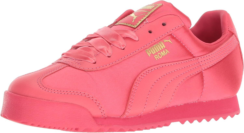 PUMA Unisex-Child Roma Satin Sneaker