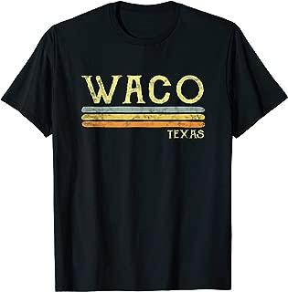 Vintage Waco Texas Tx T-shirt Love Gift Souvenir