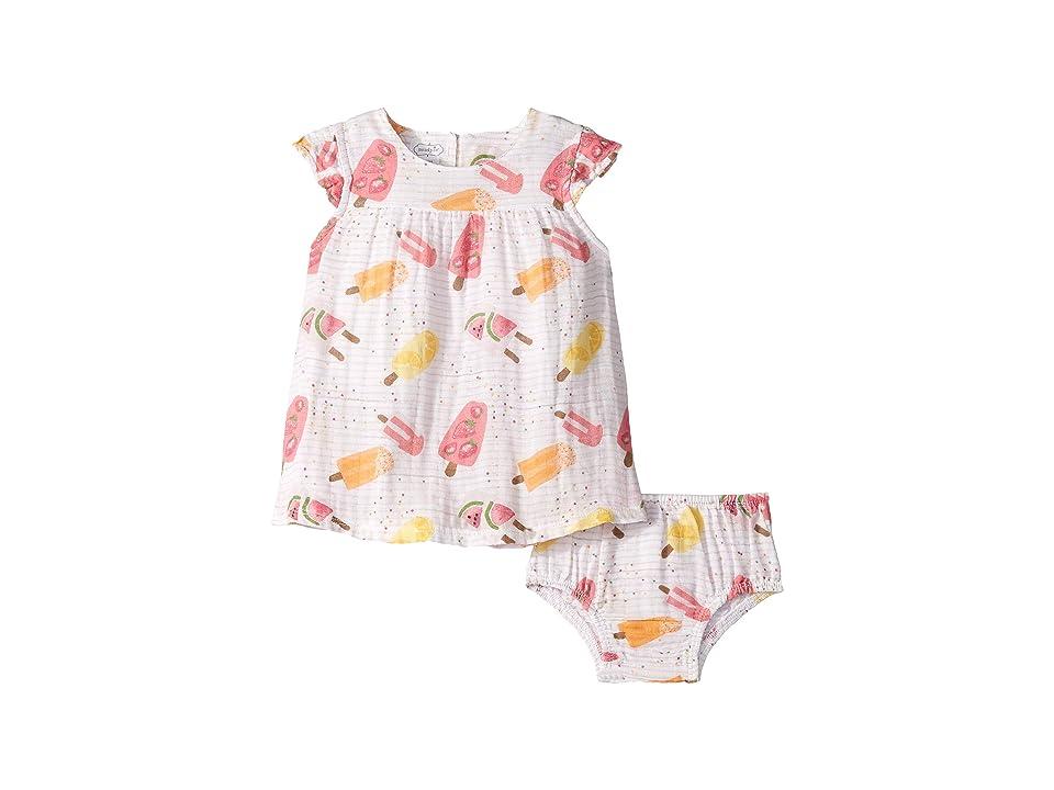 Mud Pie Popsicle Muslin Dress (Infant) (Pink) Girl