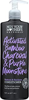Not Your Mother's, Activated Bamboo Charcoal & Purple Moonstone Conditioner, 16 Fl Oz