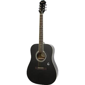 Epiphone DR-100 Acoustic Guitar (Ebony)