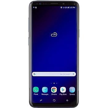 Samsung Galaxy S9+, 64GB, Coral Blue - Fully Unlocked (Renewed)