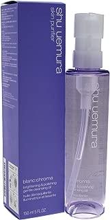Shu Uemura Blanc:chroma Brightening and Polishing Gentle Cleansing Oil, 5 Ounce