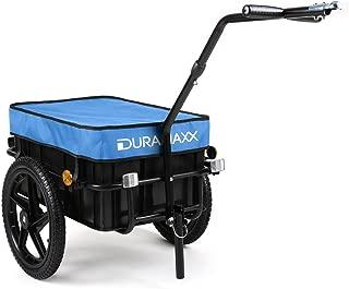 Carga de equipaje Remolque con mango 78 x 61 x 50cm Incluye reflectorers   Peso m/áximo 80kg Barra de acoplamiento 90 litros Deuba /® Remolque para bicicletas