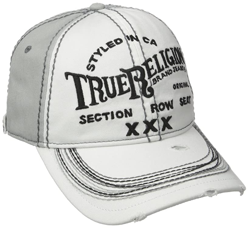 True Religion Men's Triple X Baseball Cap
