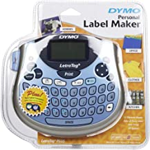 Dymo Plus Lt 100T Label Maker labeller 2 Tapes Cartridges