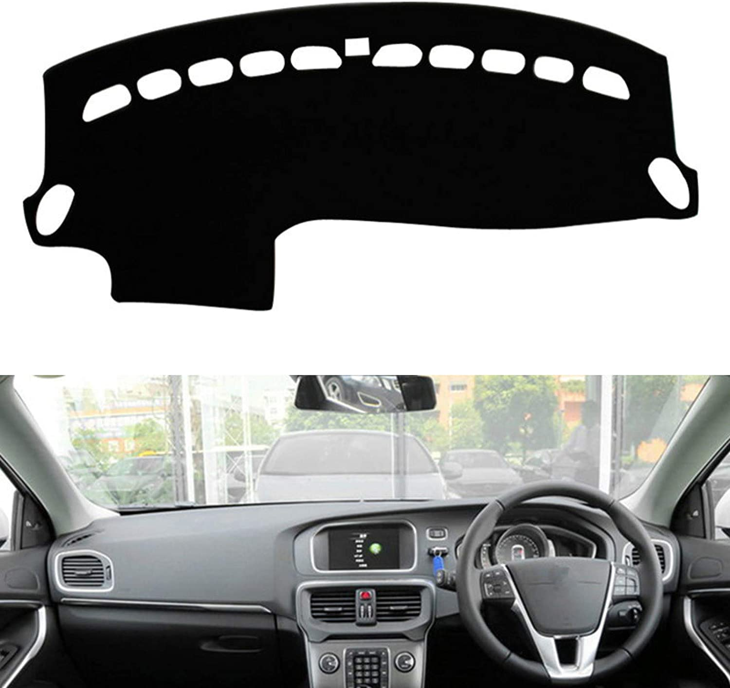 Topics on TV Car Dashboard Limited time for free shipping Cover Volvo 2013-2015 V40 Dashmat Styling