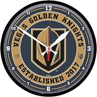 398af775b WinCraft Vegas Golden Knights Established 2017 Round Wall Clock