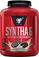 BSN SYNTHA-6 Whey Protein Powder, Micellar Casein, Milk Protein Isolate, Cookies and Cream, 48 Servings (Packaging May Vary)