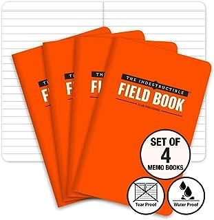 The Indestructible, Waterproof, Tearproof, Weatherproof Field Notebook - 3.5
