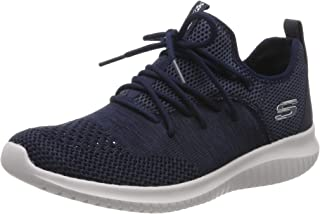 Skechers Australia Ultra Flex - WINDSONG Women's Training Shoe, Navy, 8.5 US