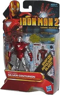 Iron Man 2 Comic Series Action Figure #34 Silver Centurion 3.75 Inch