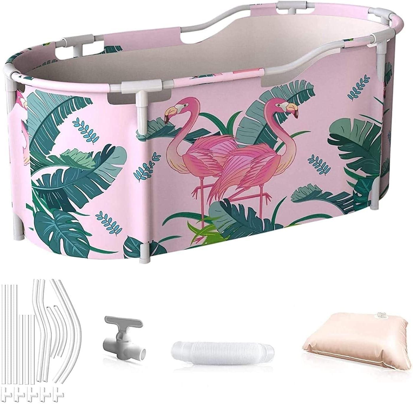 Hewen Now free shipping Folding Bathtub Indoor low-pricing Bath Fol Adult Tub
