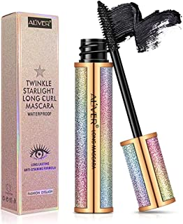 Bestidy Fiber Lash Mascara,Waterproof Mascara,Natural Thick Thickening and Lengthening Mascara Lasting All Day