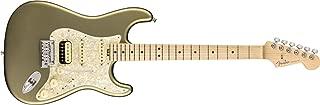 Fender American Elite Stratocaster HSS Shawbucker - Satin Jade Pearl Metallic with Maple Fingerboard