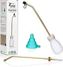 Bizzy One Pest Control, Diatomaceous Earth Bulb Duster, Powder Duster, Pesticide Bulb, Garden Powder applicator + 2 Lances