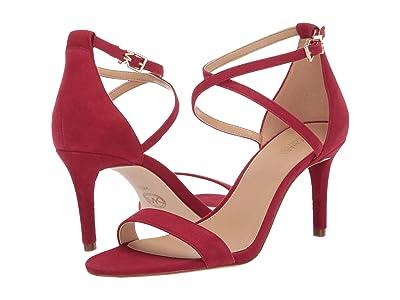 MICHAEL Michael Kors Ava Mid Sandal (Scarlet) Women