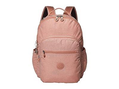 Kipling Seoul Laptop Backpack (Galaxy Twist Pink) Backpack Bags