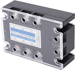 3 Phase Solid State Relay, 3 Phase Relay Relay Panel Relay, for Food Machinery Petrochemical Equipment Packaging Machinery...