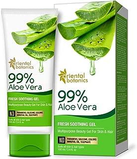 Oriental Botanics 99% Aloe Vera Gel - Multipurpose Beauty Gel for For Skin & Hair, 100ml