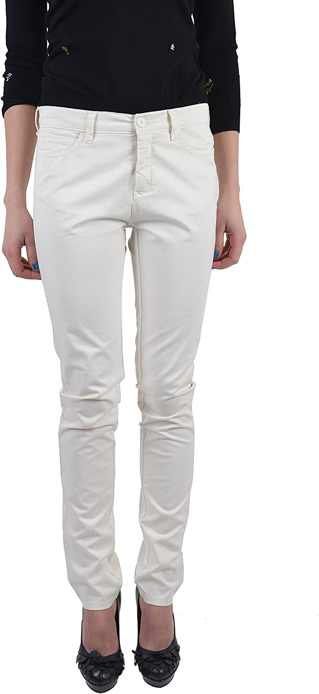 Maison Martin Margiela MM6 Women's White Skinny Jeans US 6 IT 42