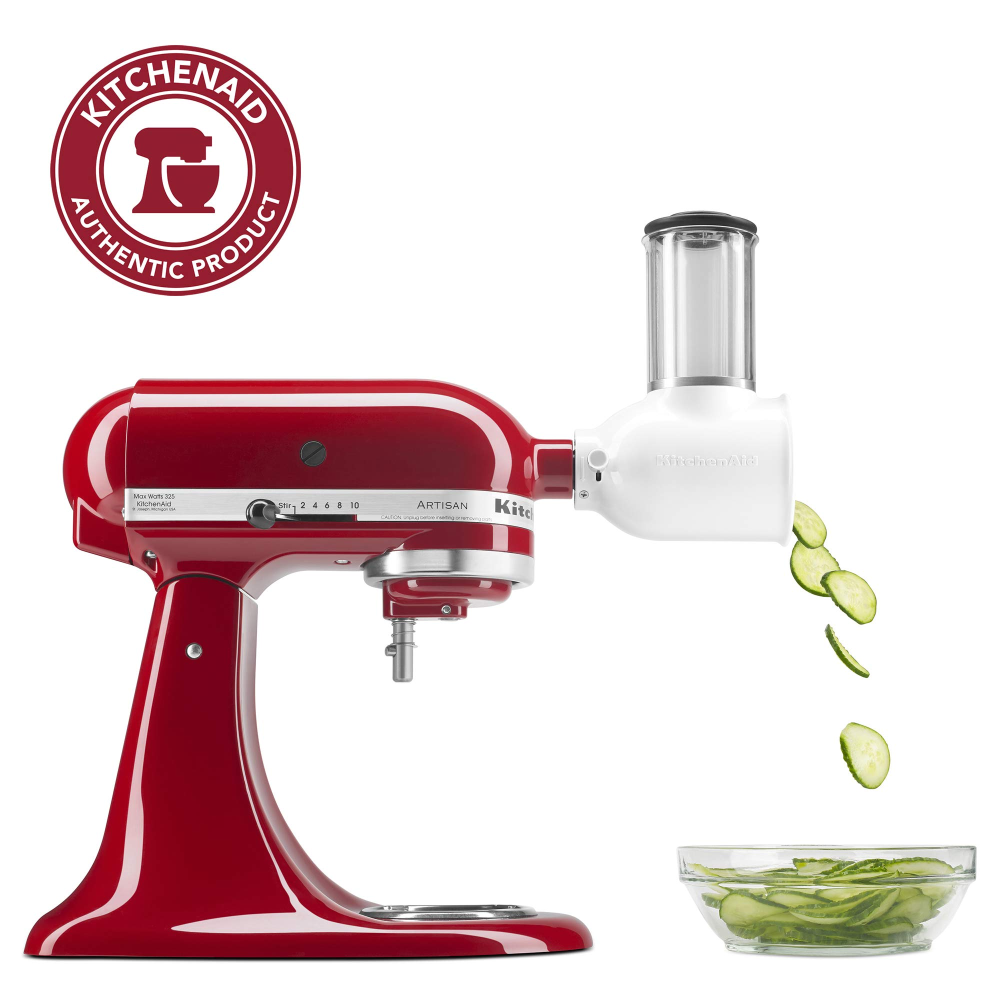 KitchenAid KSMVSA Slicer Shredder Attachment
